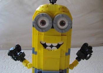 Minionek Kevin – klocki Zbuduj Minionka Mega Bloks 776 elem.