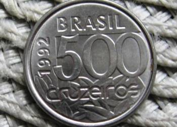 Brazylia 500 Cruzeiros 1992r