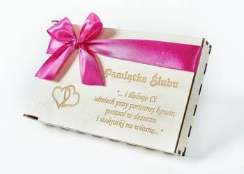 Pamiątka Ślubu, pudełko na pieniądze NP10