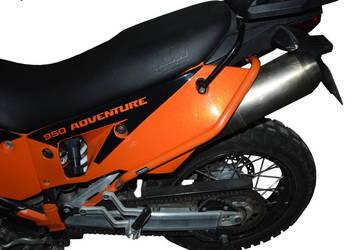 Gmole HEED tylne do KTM 950 / 990 Adv (02-12) - pomarańczow