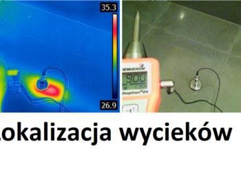 Wykrywanie miejsc wycieków z instalacji wodnych - Poznań