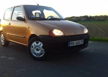 Fiat Seicento 900+ GAZ! Hak!