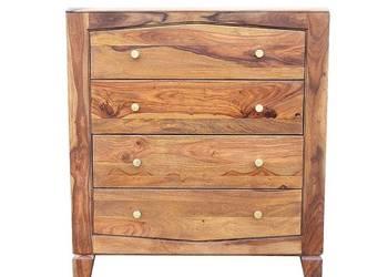 Indyjska jasna drewniana bieliźniarka egzotyczny palisander
