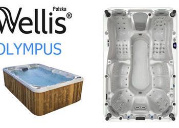 Wanna jacuzzi ogrodowe spa Wellis Olympus 9 osób