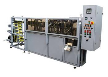Sprzedaż maszyn do pakowania płynnych produktów.