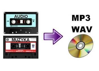 Przegrywanie kaset magnetofonowych na płyty CD lub do MP3