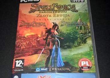 Gra PC Spell Force Zakon Świtu - złota edycja 1 DVD