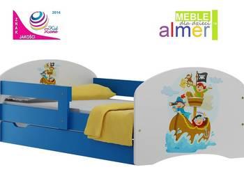 łóżeczko PIRACI 6 ŁÓŻKO + SZUFLADA 180/90 dla dzieci