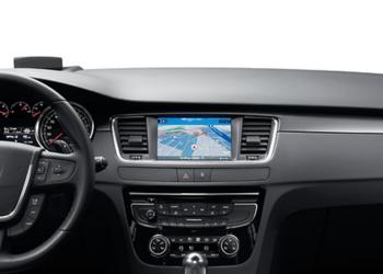 Nawigacja mapa Peugeot 508 oryginalna 2018 2ed.