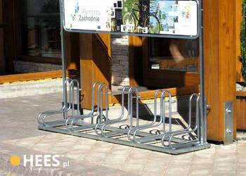 Stojak Rowerowy (z reklamą) 5 stanowisk, na pięć rowerów