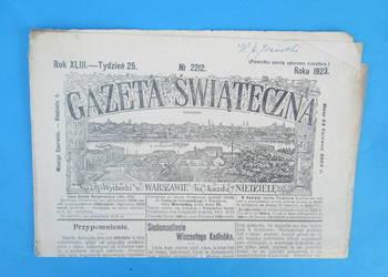 25. Gazeta Świąteczna Rok wydania 1923 - Bezpłatna wysyłka.