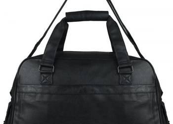 Czarna torba podróżna bagaż podręczny