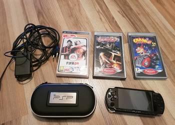 Konsola Sony PSP + 3 gry