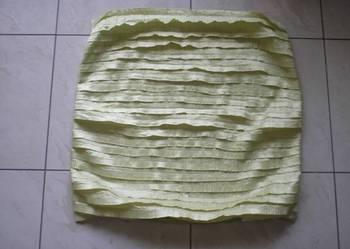 Pistacjowa poszewka na poduszkę jasiek 60 cm x 60 cm