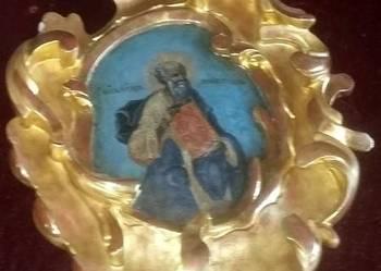 Ikona Święty Jan Rosja XVIII / XIX wiek wymiary 51/33/7 cm