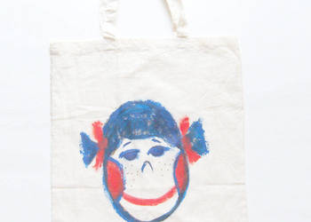 torba płócienna bawełniana,eko torba z obrazkiem,fajna torba