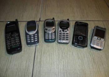 Używane telefony.