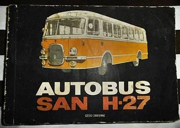 KATALOG CZĘŚCI AUTOBUS SAN H 27