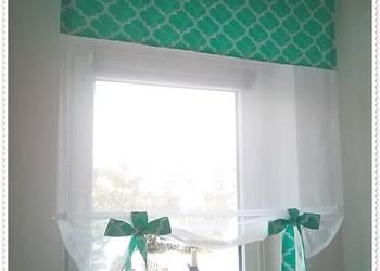 Firanka, panel, roleta, okno