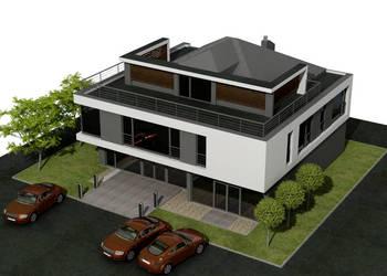 projekt typowy PS-SX-240-22 budynek usługowy / biurowy