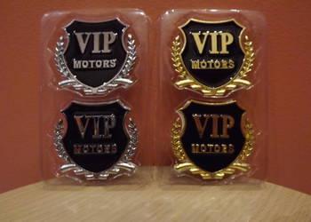Emblemat Naklejka VIP MOTORS