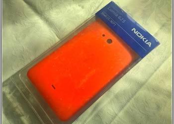 Używany, NOWA Tylna Klapka Bateri Obudowa NOKIA Lumia 625 630 1320 C7 na sprzedaż  Łódź