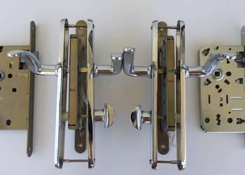 Zamki wpuszczane do drzwi wewnętrznych + klamki