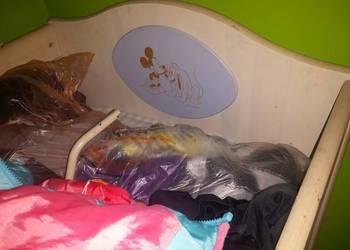 łóżeczko drewniane disney