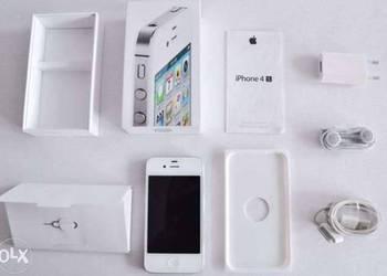 Piękny iPhone 4 G Bialy bez simlocka cały komplet z salonu