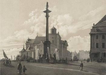 WARSZAWA - pocztówki - XIX w. - reprodukcje
