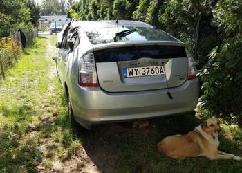 Toyota Prius Hybryda Uszkodzona po kolizji