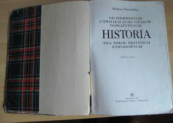 Sprzedam podręcznik - Historia dla szkół średnich zawodowych
