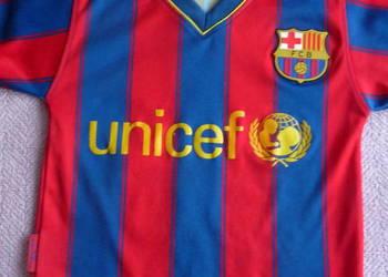 Oryginalna Koszulka Sportowa z barwami FC Barcelona