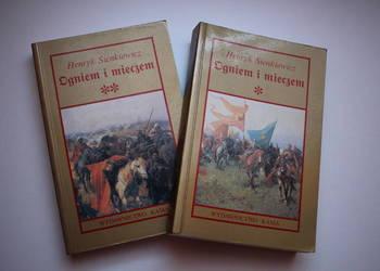 Henryk Sienkiewicz Ogniem i Mieczem 2 części tomy miękka sta