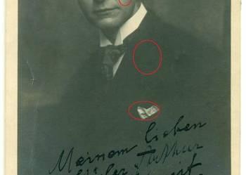 Stare zdjęcie Paul Elgers artysta? muzyk? dedykacja 1920 rok