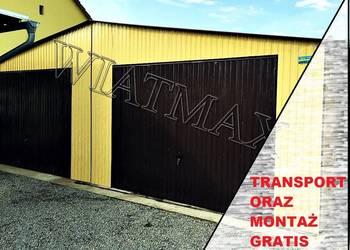 Garaż blaszany 8 x 7, garaże, garaz, wiaty, hale,  wiata,