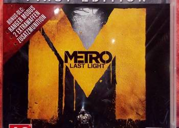 METRO Last Light - gra na PS3