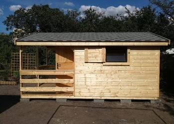 Domek Domki drewniane letniskowe w różnych rozmiarach