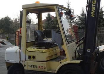 Wózek widłowy Hyster H3.20 XML rok 2003 Silnik GM do remontu