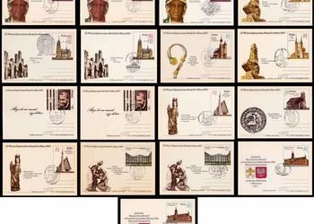 """Karty pocztowe """"III Wizyta Papieża Jana Pawła II 1987r"""""""