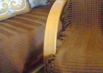 Narzuta na kanapotapczan i fotel