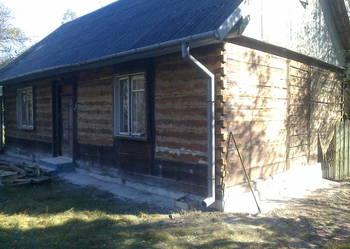 Dom drewniany do rozbiórki + stodoła