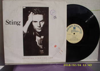 STING--NOTHING LIKE THE SUN ;2 LP winyl