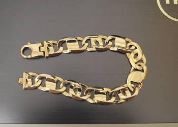 ekskuzywna złota bransoletka 750 18k 1,5cm