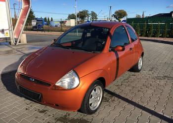 Ford Ka 1.3 Platinium,klima elektryka,alu, 2003r+4kołaZIMA