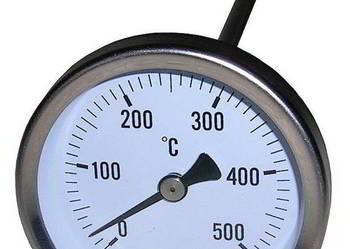 Termometr tarczowy 0+500stC z sondą 150mm