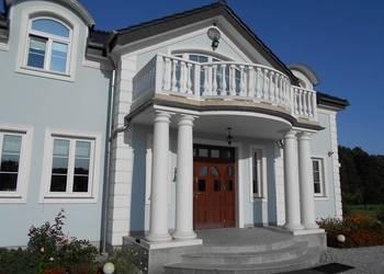 Tralki betonowe, balustrada, poręcz, barierka, taras, balkon
