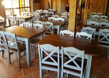 Krzesło nowoczesne prowansalskie krzyżak skandynawskie nowe