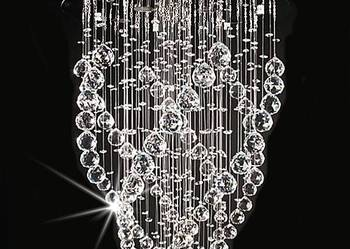 Ekskluzywna lampa kryształowa żyrandol kryształowy XL