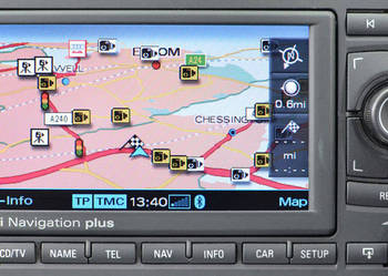 Aktualizacja map AUDI Navigation Plus RNS-E 2018 i MMi 2G